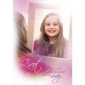 Ditipo Hrací přání Život je jak pohled do zrcadla Modus Úsmev 224 x 157 mm