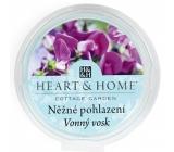 Heart & Home Nežné pohladenie Sójový prírodný voňavý vosk 27 g