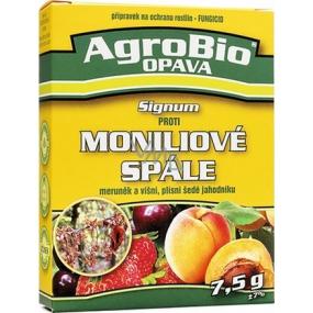 AgroBio Signum proti moníliovej šarlachu marhúľ a višní, plesni sivej jahôd 7,5 g