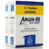 Argin-IN zlepšujú erekciu a sexuálnu výkonnosť pre mužov 90 toboliek + Argin-IN 90 kapsúl