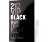 Carolina Herrera 212 VIP Men Black toaletná voda s rozprašovačom 1,5 ml, vialky