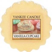 Yankee Candle Vanilla Cupcake - Vanilkový košíček vonný vosk do aromalampy 22 g