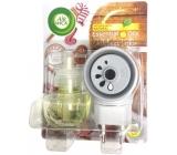 Air Wick Essential Oils Christmas Cookie - Vánoční cukroví elektrický osvěžovač vzduchu komplet 19 ml