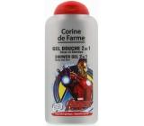 Corine de Farme Avengers 2v1 šampon a sprchový gel pro děti 250 ml