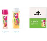 Adidas Get Ready! for Her parfumovaný dezodorant sklo pre ženy 75 ml + sprchový gél 250 ml, kozmetická sada