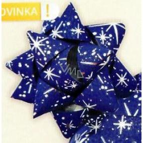 Nekupto Hviezdica strednej luxus tmavo modrá so striebornými detailmi HV 216 42