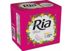 Ria Ultra Normal Plus hygienické vložky s krídelkami 10 kusov