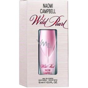 Naomi Campbell Wild Pearl toaletní voda pro ženy 15 ml