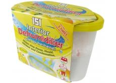 151 Interior Dehumidifier Lemon odstraňovač vlhkosti s osvěžovačem vzduchu 300 g