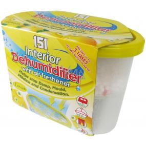 151 Interior Dehumidifier Lemon odstraňovač vlhkosti s osviežovačom vzduchu 300 g