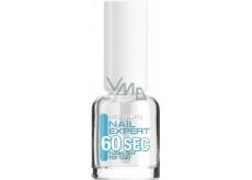 Miss Sporty Nail Expert 60 Sec Turbo Dry Top Coat rychleschnoucí krycí lak na nehty 8 ml