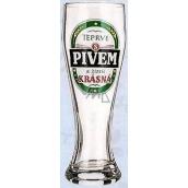 Nekupto Darčeky s humorom Pivné poháre humorné Až s pivom je smäd krásna 0,6 l