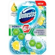 Domestos Power 5 Green Tea & Citrus Wc pevný blok 55 g