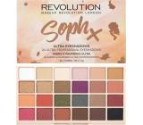 Makeup Revolution Soph Eyeshadow paletka očných tieňov 24 x 1,1 g
