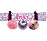 Bomb Cosmetics Láska mix balistika 3 x 160 g, kozmetická sada