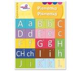 Ditipo Písmenká zábavné učenie pexeso zoznámenie sa s tlačenými písmenami 27 párov obrázkov 297 x 222 mm