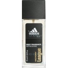 Adidas Victory League parfumovaný deodorant sklo pre mužov 75 ml