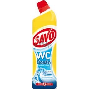 Savo Oceán Wc tekutý čistiaci a dezinfekčný prípravok 750 ml