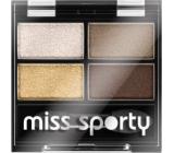 Miss Sporty Studio Colour Quattro očné tiene 413 100% Golden 3,2 g