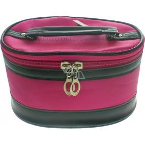 Kozmetický kufrík ružový 17 x 12 x 10 cm 70390