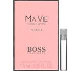 Hugo Boss Boss Ma Vie Florale parfémovaná voda pro ženy 1,5 ml, Vialka