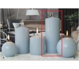 Lima Ice pastel sviečka svetlo modrá valec 80 x 200 mm 1 kus