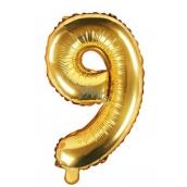 Balónik nafukovacie číslo 9, 35 cm fóliový