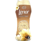 Lenor Gold Orchid vôňa vanilky, mimózy, ruží a broskýň vonné perličky do bubna práčky 210 g
