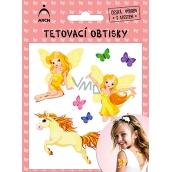 Arch Tetovacie obtlačky s atestom pre deti Víly