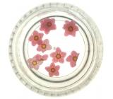 Professional Ozdoby na nechty kvetina ružová 132