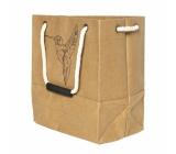 Albi Eko taška vyrobené z pratelného papiera s uchom - kolibrík 30 cm x 34 cm x 18 cm