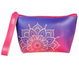 Albi Original Cestovná kozmetická taška Mandala 14 x 18 x 10 cm