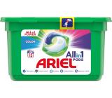 Ariel All-in-1 Pods Color gélové kapsule na farebnú bielizeň 13 kusov 309,4 g