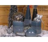 Lima Artic svíčka šedá jehlan 75 x 250 mm 1 kus