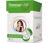 DonnaHair Forte 3 měsíční kúra pro zdravé a krásné vlasy 90 tobolek + náušnicemi Swarovski Elements