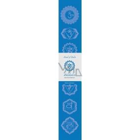 Vonné tyčinky Piata čakra Modrá 14 kusov