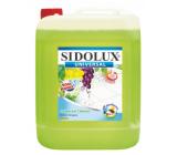 Sidolux Universal Soda Zelené hrozno umývací prostriedok na všetky umývateľné povrchy a podlahy 5 l