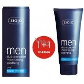 Ziaja Men Duo Concept hydratační krém 50 ml + Balzám po holení 75 ml, duopack