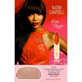 DÁREK Naomi Campbell Pret A Porter Silk Collection Cosmetic Bag Pink kosmetická taštička
