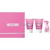 Moschino Fresh Set edt 5ml + SG 25ml + BL 25ml