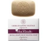 Erbario Toscano Strapec Bio exfoliačný toaletné mydlo proti starnutiu kože, vyživuje, zvláčňuje a spevňuje 140 g