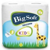 Big Soft Kids parfumovaný 3 vrstvový 160 útržkov 4 kusy