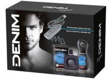 Denim Original toaletná voda pre mužov 100 ml + sprchový gél 250 ml + USB rozbočovač, kozmetická sada