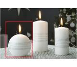 Lima Exclusive sviečka strieborná guľa 80 mm 1 kus