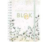 Albi Blok Svadobné plánovacie krúžkový 80 strán