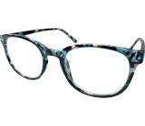 Berkeley Čítacie dioptrické okuliare +1,5 plast murované modro-zeleno-hnedé 1 kus MC2198