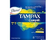 Tampax Compak Regular dámske tampóny 8 kusov