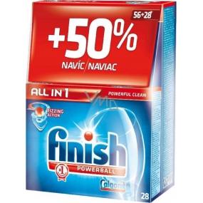 Calgonit Finish All-in-1 Classic Regular tablety do umývačky 56 + 28 kusov
