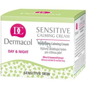 Dermacol Sensitive Calming Cream výživný upokojujúci pleťový krém 50 ml
