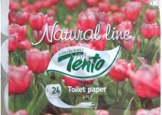 Tento Natural Line toaletní papír 3 vrstvý 24 kusů